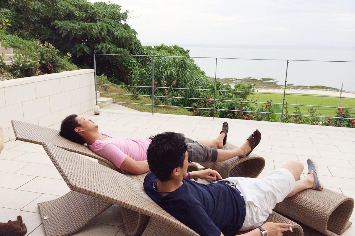 社員旅行の沖縄